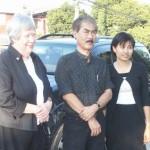Sallie, Noppadon & Anne